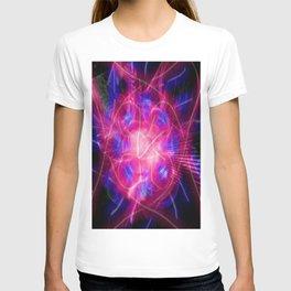 Neon Energy Burst T-shirt