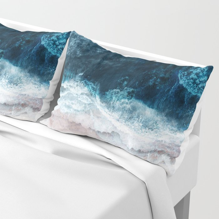 Blue Sea II Pillow Sham