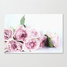 Pink Rose Bouquet Canvas Print