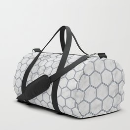 Honeycomb - Marble Navy #871 Duffle Bag