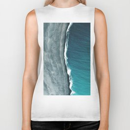 Beach Abstract Biker Tank