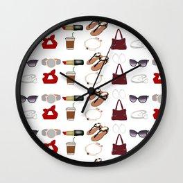 Prioritize to Accessorize Wall Clock