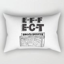 Smooth operator Rectangular Pillow