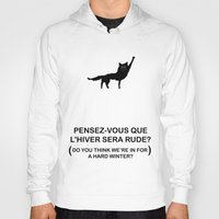 roald dahl Hoodies featuring Canis Lupus by KINGOFTHERATS