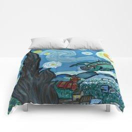 Starry Flight Comforters