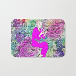 I must give you my thoughts, my mind, my dreams Bath Mat