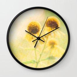 Sunshiny Wall Clock