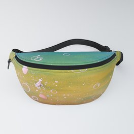 READY TO BREATHE - ANOTHER DREAM - Original abstract painting by HSIN LIN / HSIN LIN ART Fanny Pack