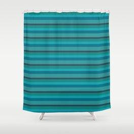 Gray blue Shower Curtain