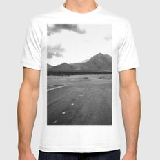 Where the City Ends, And Giants Take Over MEDIUM Mens Fitted Tee White