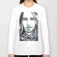 jared leto Long Sleeve T-shirts featuring Jared Leto by ShayMacMorran