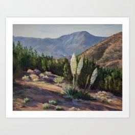The Sentinels of the California Desert Art Print