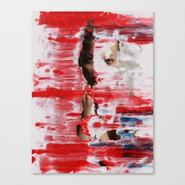 Red 001 Canvas Print