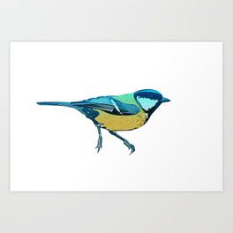 Watch the Birdie Art Print