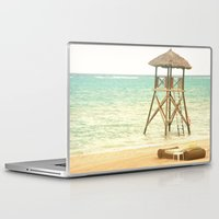 jamaica Laptop & iPad Skins featuring A day in Jamaica by Catherine G