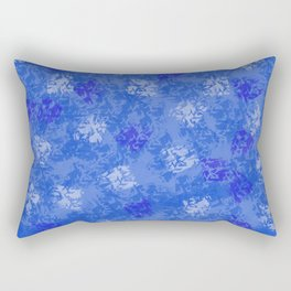 A Blue Winter Wonderland Rectangular Pillow