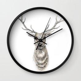 Proud Stag - Reindeer - Deer Wall Clock