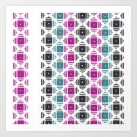 kilim Art Prints featuring Kilim by 603 Creative Studio