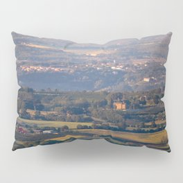 Italian countryside view Pillow Sham