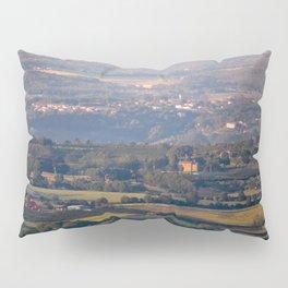 Italian countryside view Pillow Sham