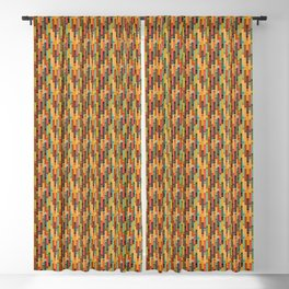 Retro Candy // Vintage Retro Candy Blackout Curtain