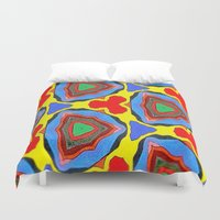 trippy Duvet Covers featuring Trippy by EBC art