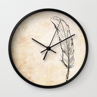 writing Wall Clocks featuring Writing by Steve Perrson