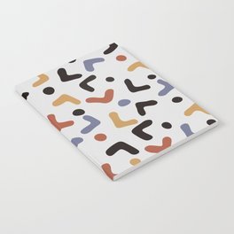 Funny Colorful Pattern Notebook