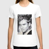 law T-shirts featuring Jude Law by Matteo Felloni Artista