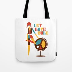 Hippie Chick Tote Bag
