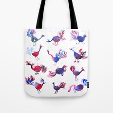 Purple palette  Tote Bag
