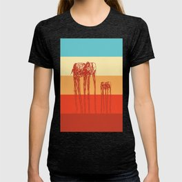 Elephants in Color T-shirt