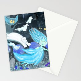 Spooky Lora Stationery Cards