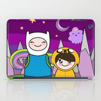 finn and jake iPad Cases featuring Kokeshis Finn&Jake by Pendientera