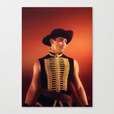 The Red Bandit Canvas Print