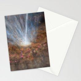 1888. Mrk 231 Black Hole Stationery Cards