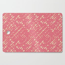 Coral Shibori Cutting Board