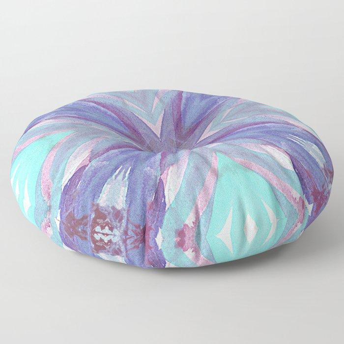 Watercolor Abstract Floor Pillow