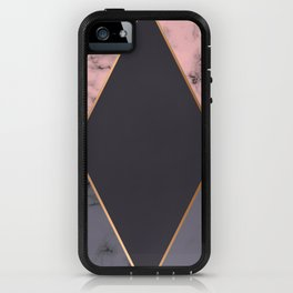 Marble Geometry 018 iPhone Case