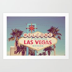 Welcome to fabulous Las Vegas Art Print
