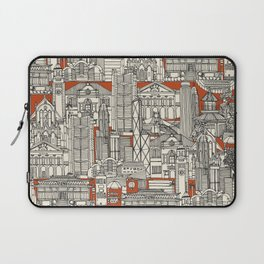 Hong Kong toile de jouy Laptop Sleeve