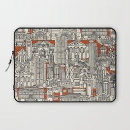 Hong Kong toile de jouy Laptop Sleeve