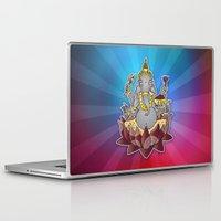 ganesh Laptop & iPad Skins featuring Ganesh by Street But Elegant