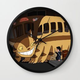 Wrong Bus Wall Clock