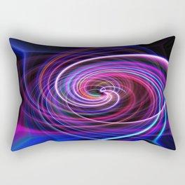 Purple twirl Rectangular Pillow