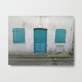 House in Honfleur, France Metal Print