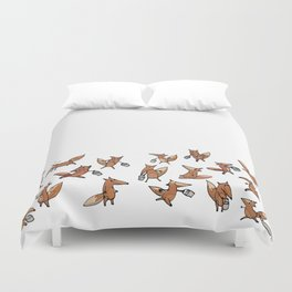 Lots of Freddy Foxes Duvet Cover
