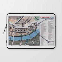CINCINATTI, OHIO Laptop Sleeve