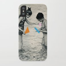 Washed Up iPhone X Slim Case