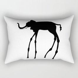 Salvador Dali Elephant, 1944 Dream Artwork Reproduction, Design, Tshirts, Posters, Jerseys Rectangular Pillow